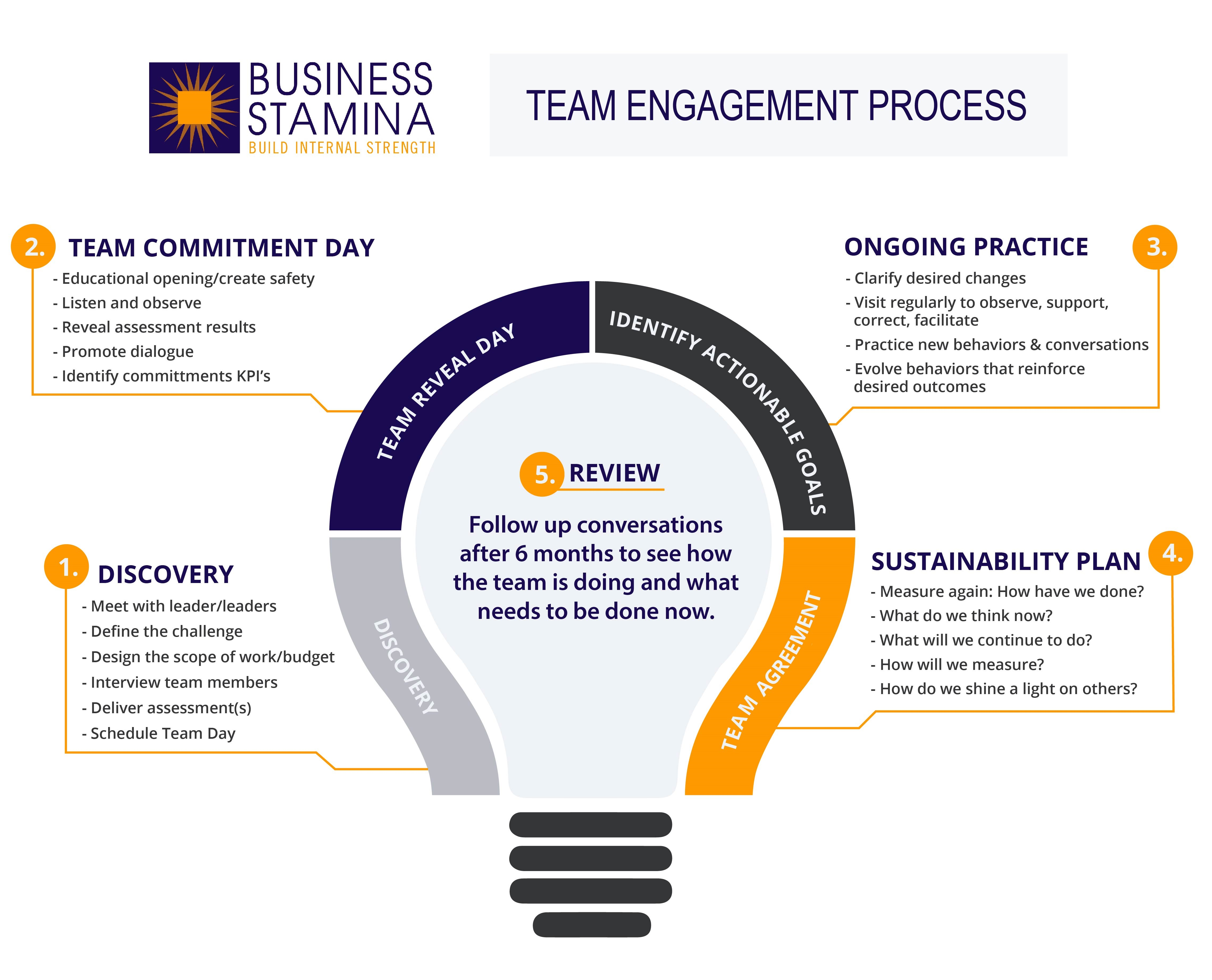 Team Engagement Process, executive team coaching